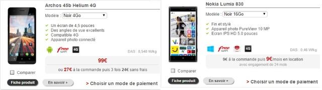 deux smartphones disparaissent de la boutique free mobile. Black Bedroom Furniture Sets. Home Design Ideas