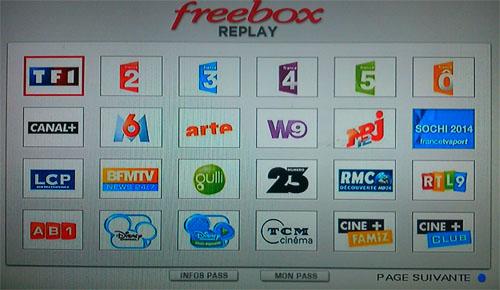 freebox replay num ro 23 est disponible ce qui porte 47 le nombre de services de rattrapage. Black Bedroom Furniture Sets. Home Design Ideas