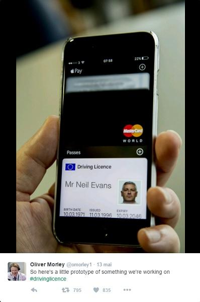f0b073092e90 Votre permis de conduire dans votre portefeuille numérique