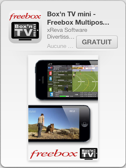 freebox tv online