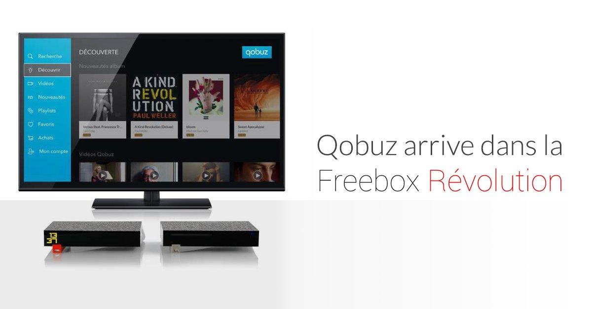spotify sur freebox revolution