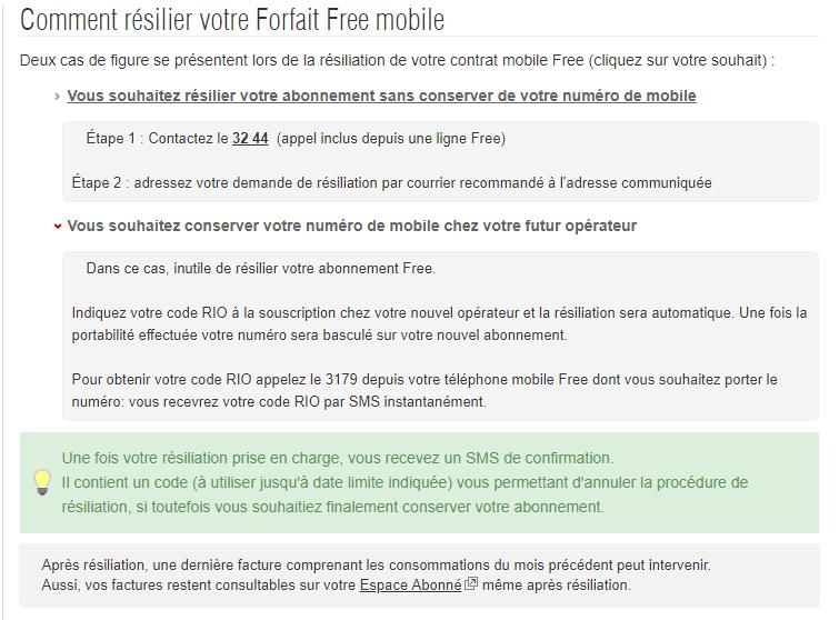 free mobile prise en charge frais de r?siliation
