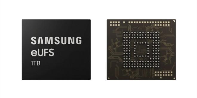 Samsung dévoile une puce de stockage de 1 To pour téléphones