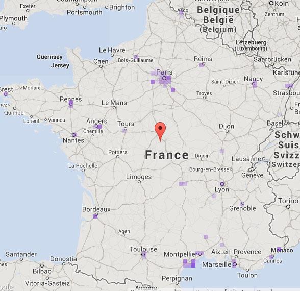 Ou Se Trouve Nante Sur La Carte De France   My blog