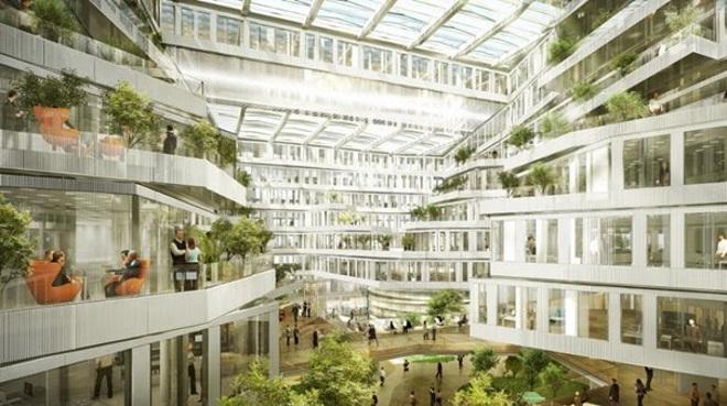Découvrez le futur siège d'Orange — Issy-les-Moulineaux