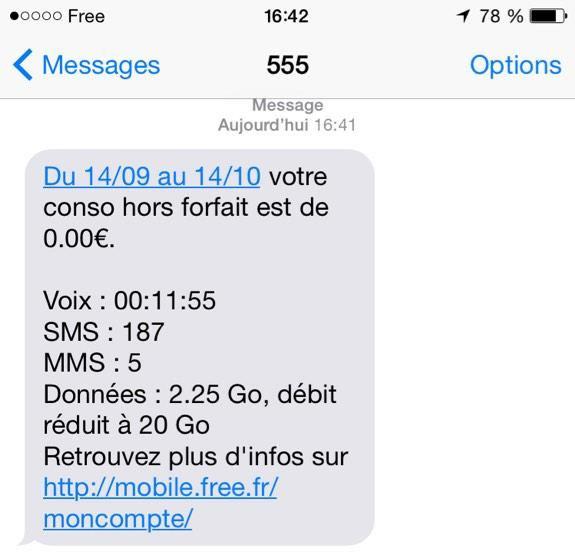 article  Go ou Free Mobile indique desormais le fair use dans suivi conso