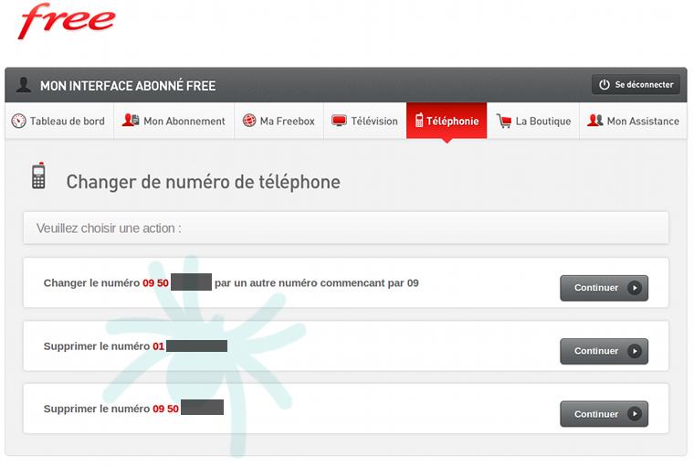 comment connaitre son numero de telephone fixe free