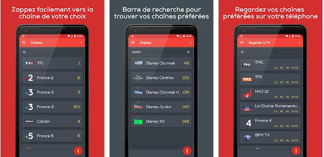 Lancement D Une Nouvelle Telecommande Virtuelle Freebox Qui Mise