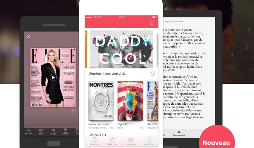 Ebooks Youboox - La lecture en illimité et gratuite pour les abonnés Free