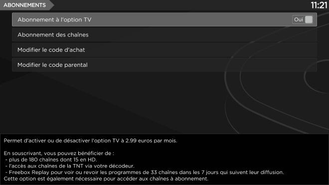 Decouvrez Les Reglages Disponibles Sur L Interface Tv De La Freebox