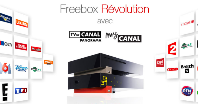 mycanal sur freebox