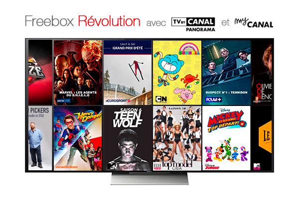 La Freebox Révolution à 4,99 €/mois pendant 1 an — Promotion