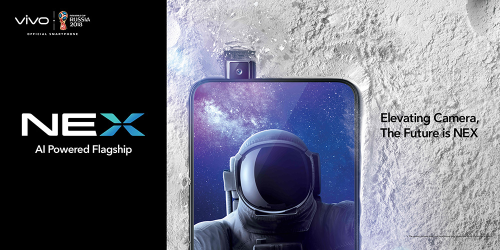 Le Vivo Nex oublie les bordures — Smartphone