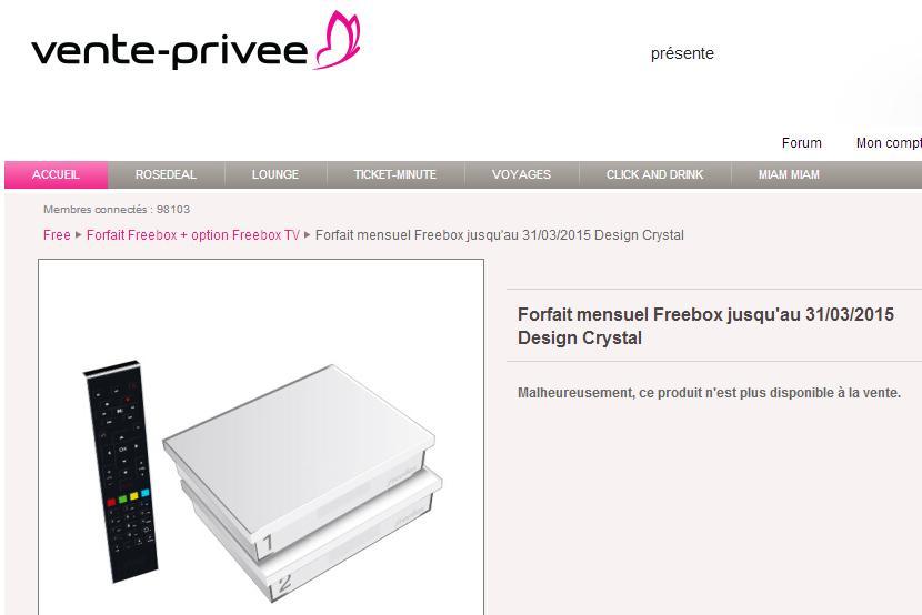 m 224 j l offre freebox sur vente priv 233 e d 233 j 224 233 puis 233 e