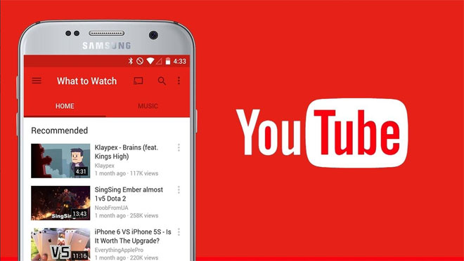 Le thème sombre et le mode incognito bientôt sur mobile — YouTube