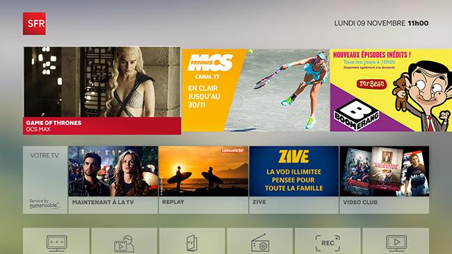 article  Decouvrez le er test de la box Zive SFR et nouvelle interface TV