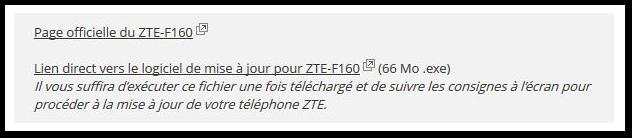 ZTE TÉLÉCHARGER TELEPHONE F160 POUR JEUX