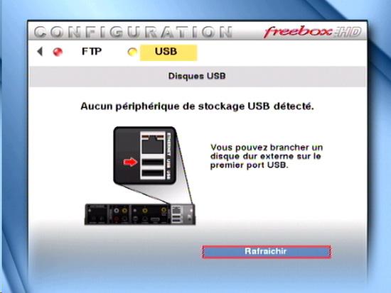 Disque dur externe pvr - Port usb freebox revolution ...