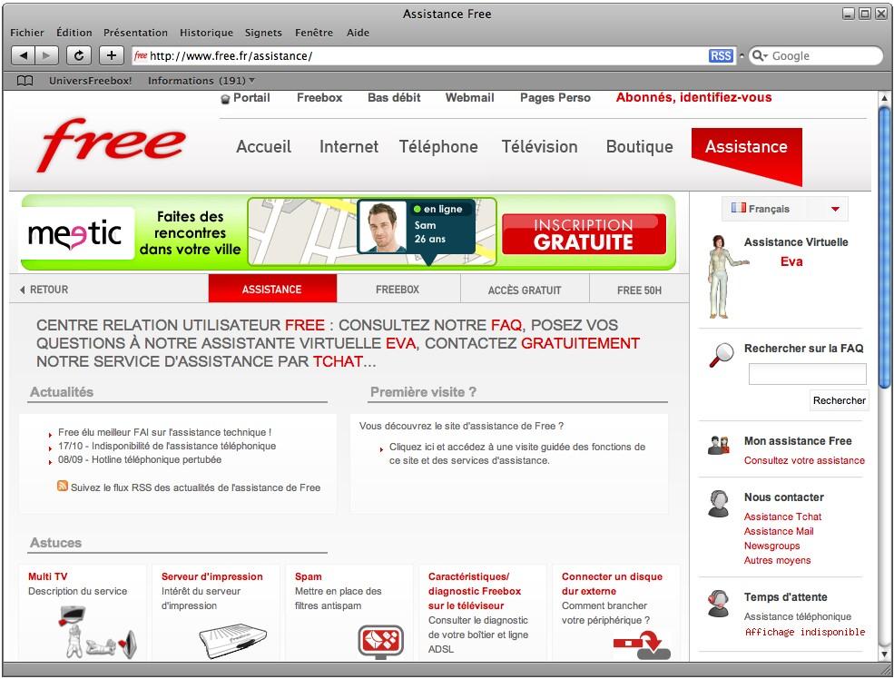 free service client numero gratuit