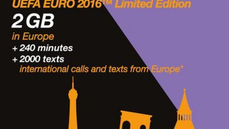 Pour l'Euro 2016, Orange lance une offre prépayée pour les touristes