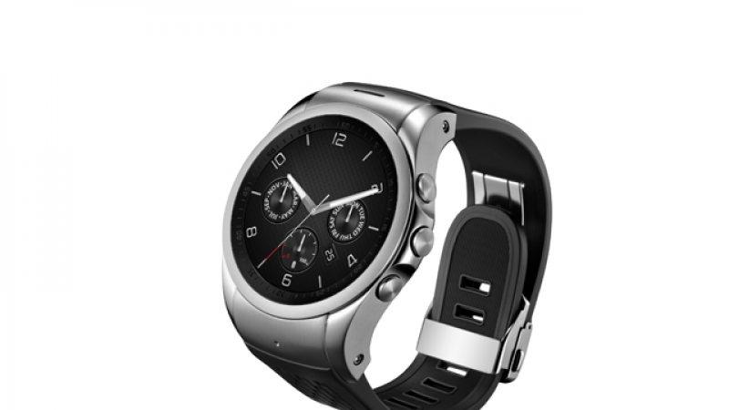 LG va présenter la première montre connectée 4G au MWC 2015
