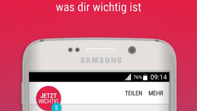 Samsung lance son application exclusive d'actualités Upday