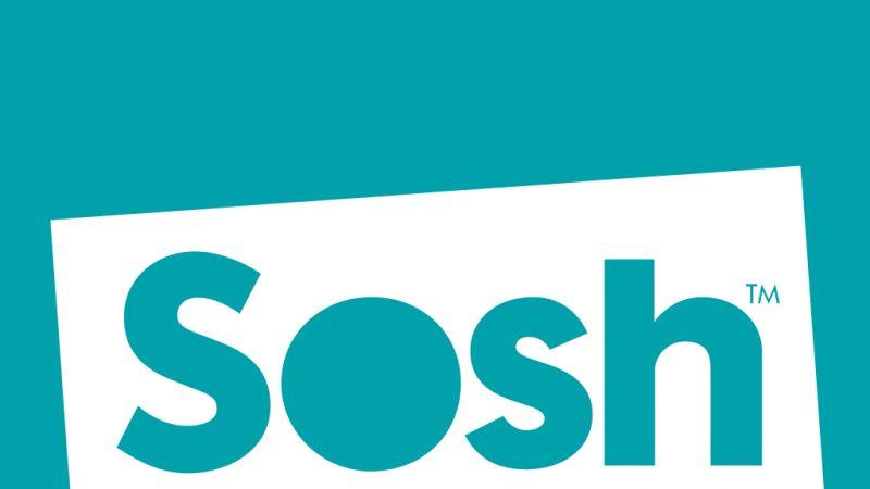 """Sosh : le forfait """"illimité"""" 20 Go passe à 9,99 euros / mois pendant un an"""
