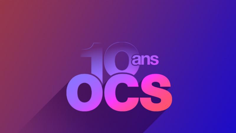 OCS révèle une nouvelle identité graphique pour ces 10 ans