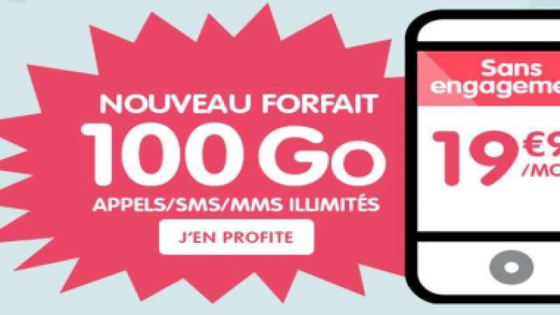 NRJ Mobile lance à son tour un forfait 100Go à 19,99€