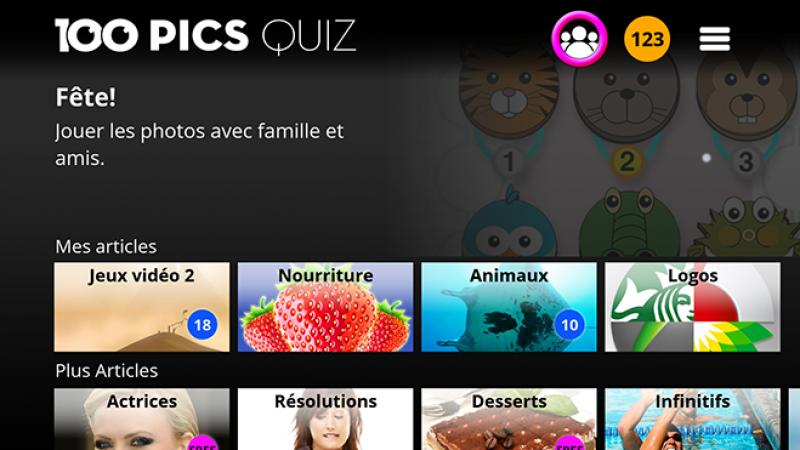 Testez votre culture générale entre amis, avec des quiz sur Freebox Mini 4K