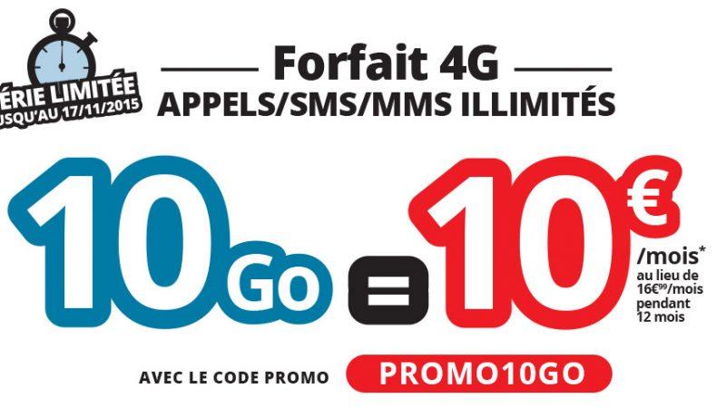 Après NRJ Mobile, Auchan Télécom propose les appels/SMS/MMS illimités et 10 Go pour 10 euros/mois