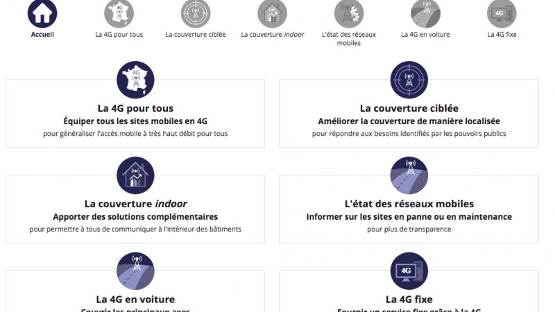 Orange, Free, SFR et Bouygues : l'Arcep lance son premier outil de contrôle des opérateurs dans le cadre de l'accord sur la couverture 4G