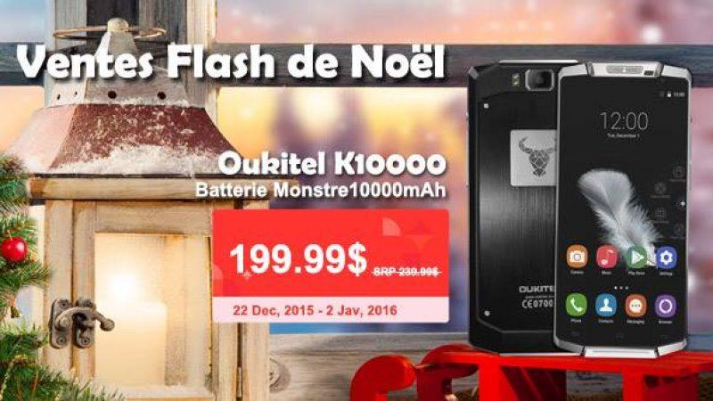 Pour le lancement du K10000, Oukitel se transforme en Père Noël