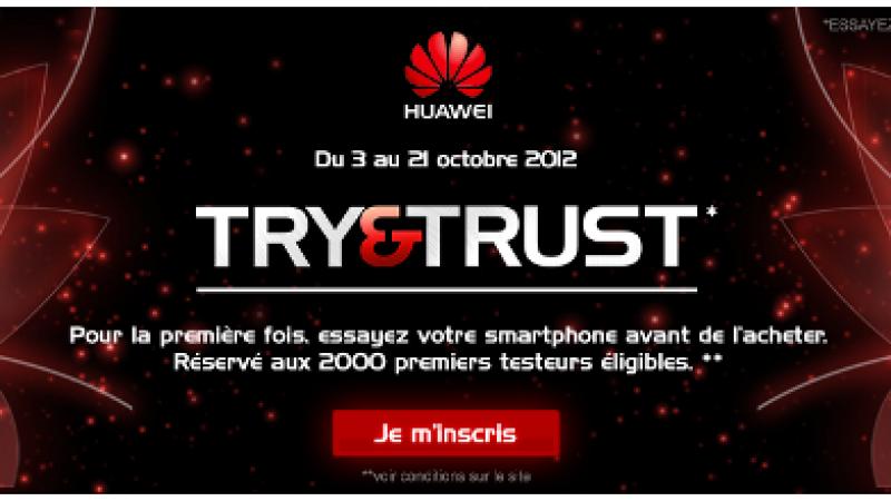 Testez votre téléphone Huawei avant de l'acheter
