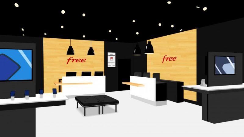 Free : découvrez en images le 61ème Free Center flambant neuf de l'opérateur