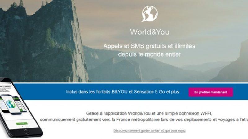 Bouygues Telecom met fin à son service World and You permettant de communiquer depuis l'étranger via le Wi-Fi