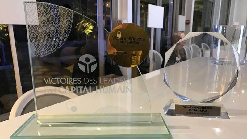 Free/Iliad a remporté, hier soir, deux trophées aux Victoires des Leaders du Capital Humain