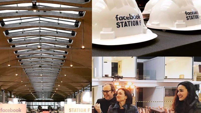 Facebook a inauguré un programme de développement de start-up au sein de la Station F de Xavier Niel