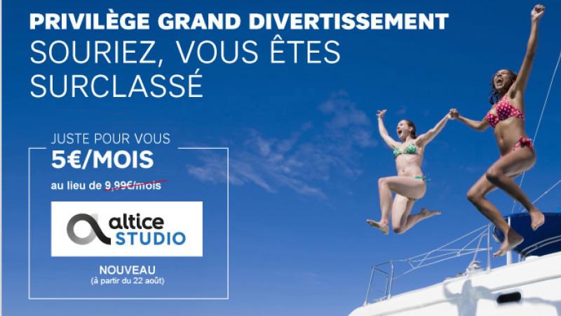 """L'intégration d'Altice Studio dans l'option """"privilège"""" de SFR, une stratégie plus que rentable"""