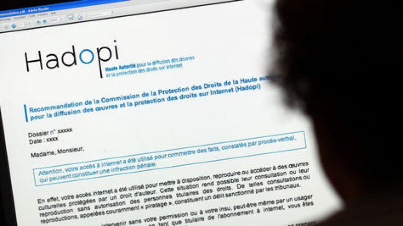Hadopi : l'Etat pourrait être amené à rembourser les fournisseurs d'accès à internet