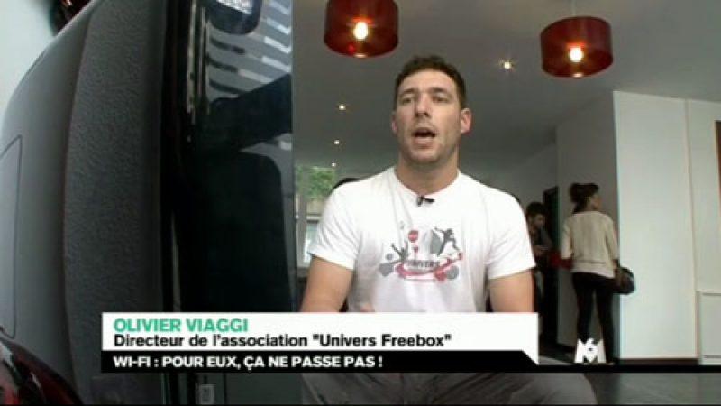 Reportage sur le Wifi dans le 19-45 de M6 avec Univers Freebox
