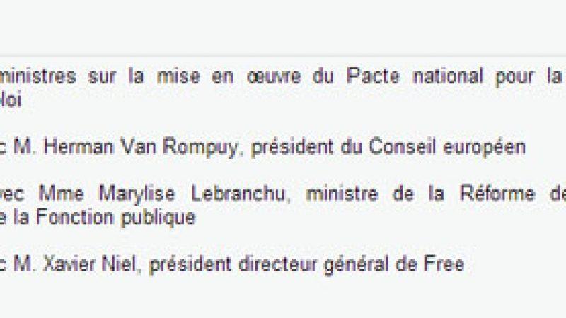 Xavier Niel sera reçu jeudi par le 1er Ministre