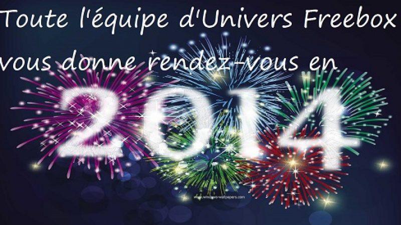 Univers Freebox vous donne rendez-vous en 2014