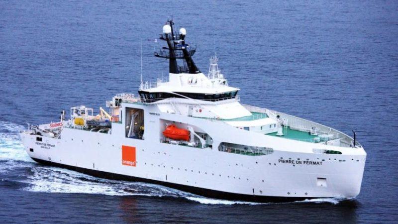 Orange annonce la mise en place d'un câble sous-marin de 5 Tbits/s pour 2018