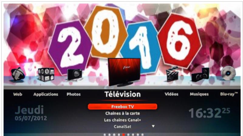 Habillez votre Freebox pour la nouvelle année, avec des fonds d'écran à effet parallaxe