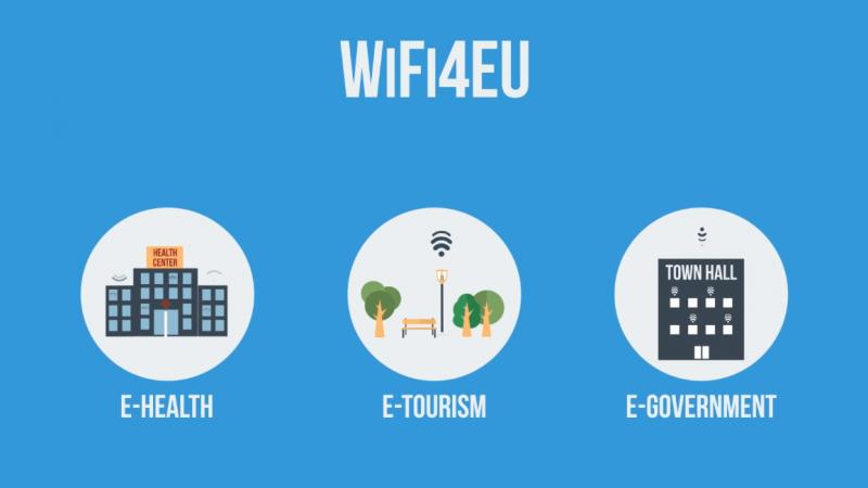 Le Wi-Fi gratuit dans les lieux publics de l'UE : l'Europe débloque 120 millions d'euros