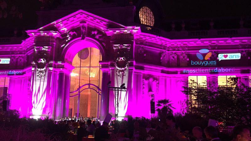 Bouygues Télécom a fêté ses 20 ans hier soir en grande pompe au Petit Palais