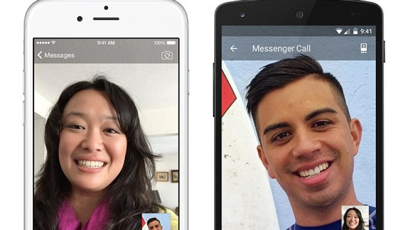 Facebook ajoute les appels vidéo à Messenger