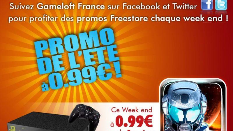 [MàJ] Promo d'été Gameloft : Nouvelle annonce à 15h