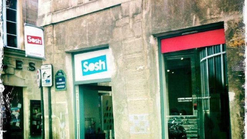 Orange crée la boutique éphémère avec Sosh